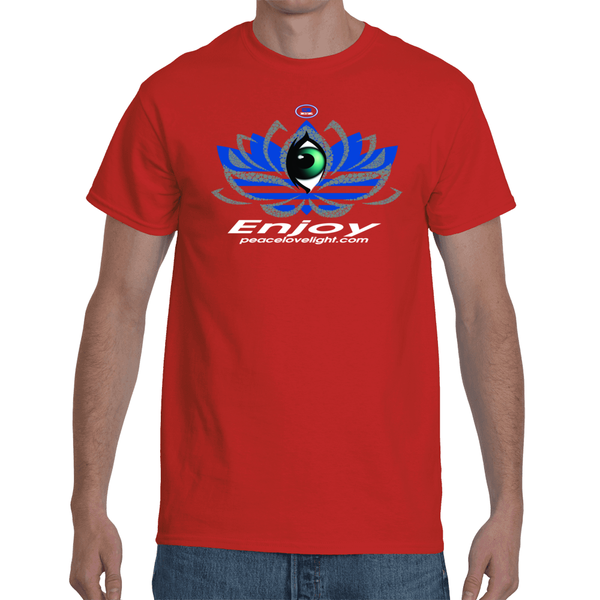 Follow Your Heart A.D.E.D.A.S Lotus Men's T-Shirt EnjoyPeaceLoveLight.com