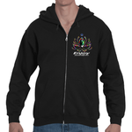 Light the way Lotus Adult Hooded Zip