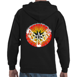 Rise and Shine Ohm Adult Hooded Full Zip Sweatshirt