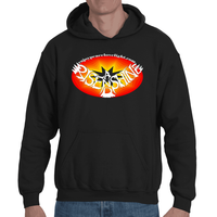 Rise and Shine Free Adult Hooded Sweatshirt