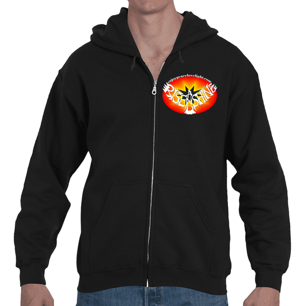 Rise and Shine Free Adult Hooded Full Zip Sweatshirt