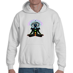 Peace, Love & Light Insight Adult Hooded Sweat shirt