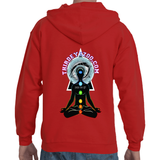 Peace, Love & Light Insight Full Zip Adult Hooded Sweat shirt