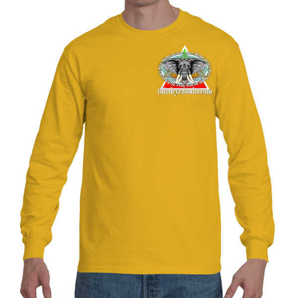 Strength in His Will Long Sleeve T-Sshirt F/B