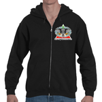 Strength in His Will Adult Hooded Full Zip Sweatshirt