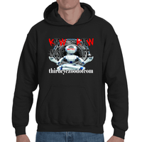 No Music, No Life....Know Music, Know Life. Adult Hooded Sweatshirt