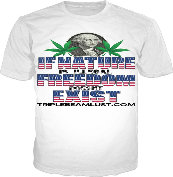 Naturally Free: TripleBeamLustDotCom T-Shirt