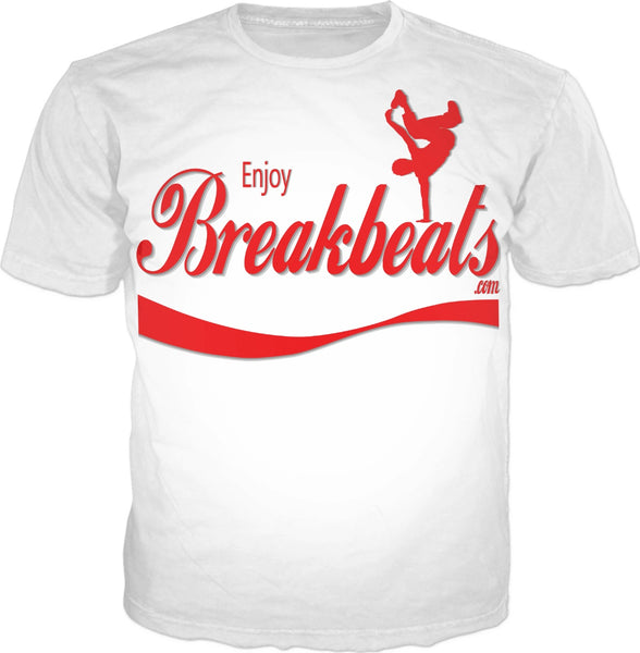 Power Moves Original Classic: EnjoyBreakBeatsDotCom T-Shirt