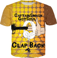 Clap Back: CaptainSmash GotSoul T-Shirt