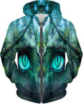 Mother Gaia: EnjoyPeaceLoveLightDotCom Hoodie