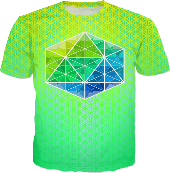 Metatron Energy Kush-T: ThirdEyeZooDotCom T-Shirt