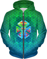 Metatron Energy Key: ThirdEyeZooDotCom Hoodie