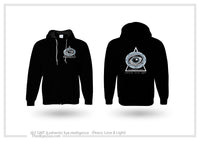 Authentic Eyentelligence ThirdEyeZoo GeoMeTricks Adult Full Zip Hoodie