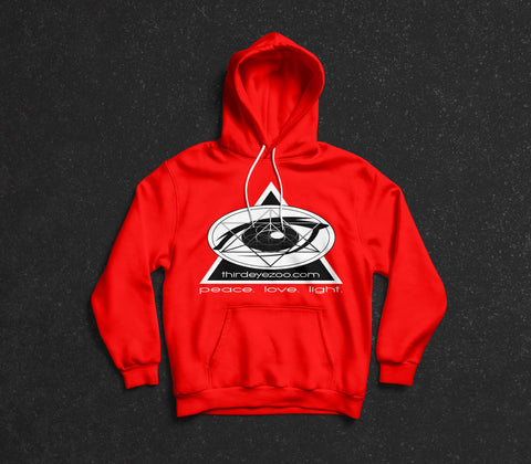 3EZ GMT (ThirdEyeZoo GeoMeTricks) Adult Hooded Sweatshirt