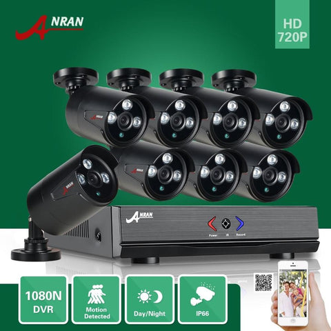 ANRAN HDMI 8ch 1080N CCTV Security Camera System