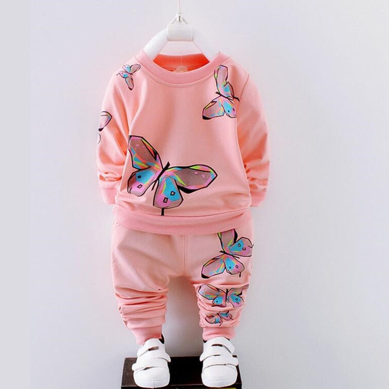 Ensemble papillon fille 2 pcs
