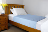Brolly Sheets Bed Pad - Blue
