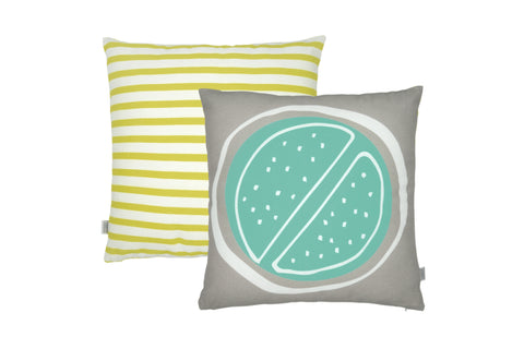 Summer Cushion - Lime