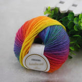 Super Chunky 50-gram Rainbow Yarn