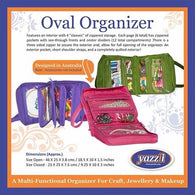 YAZZI Oval Craft Organizer