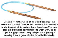 addi Olive Wood tips