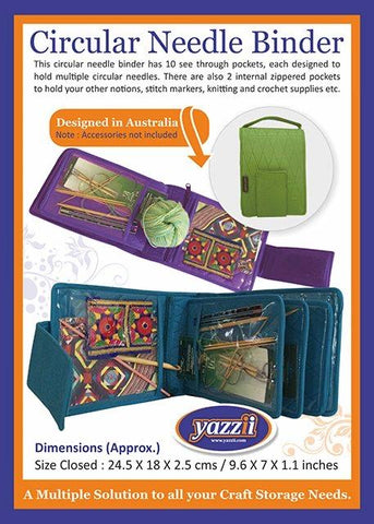 Yazzi circular needle carry case
