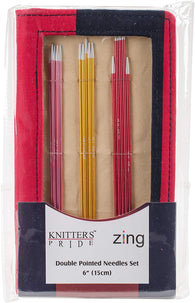 Zing double pointed needles - sock set