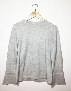 Cashmere Flare Sleeve Jumper