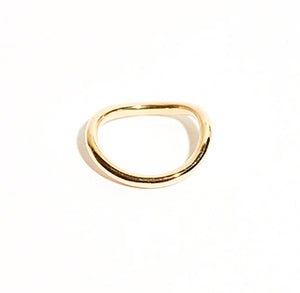 Gold Fahlband Ring