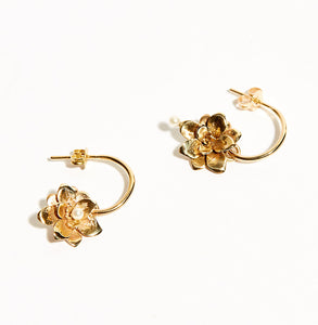 Gold Nectar Earrings