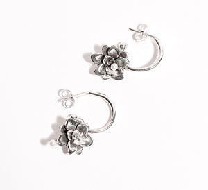 Silver Nectar Earrings