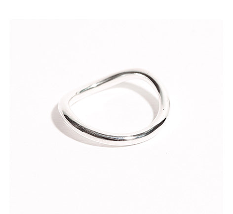 Silver Fahlband Ring