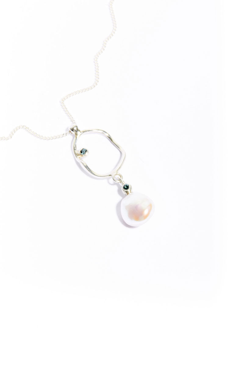Tourmaline Pearl Crush Pendant