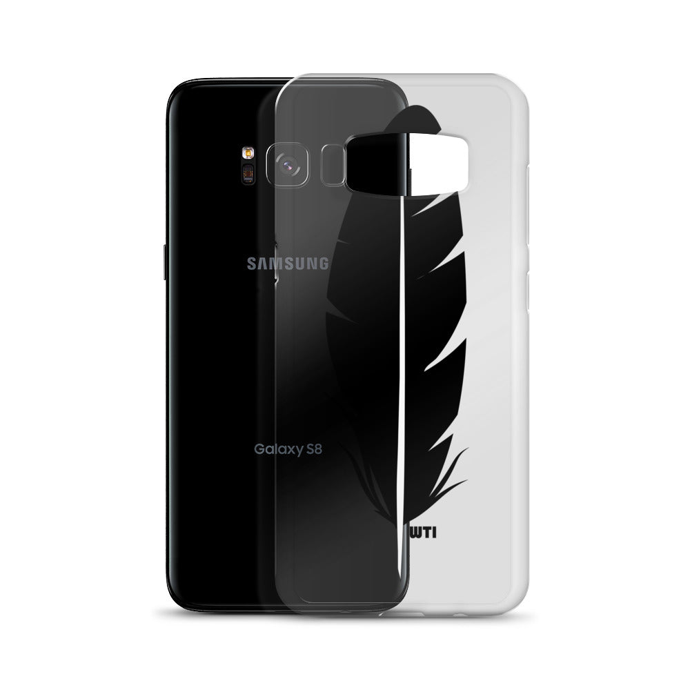 Raven Feather Samsung Cases S7 to S8+
