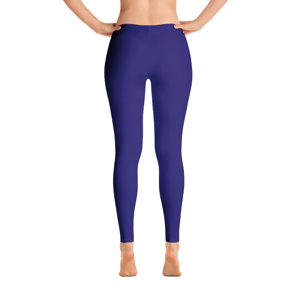 Indigo Mid Rise Yoga Leggings