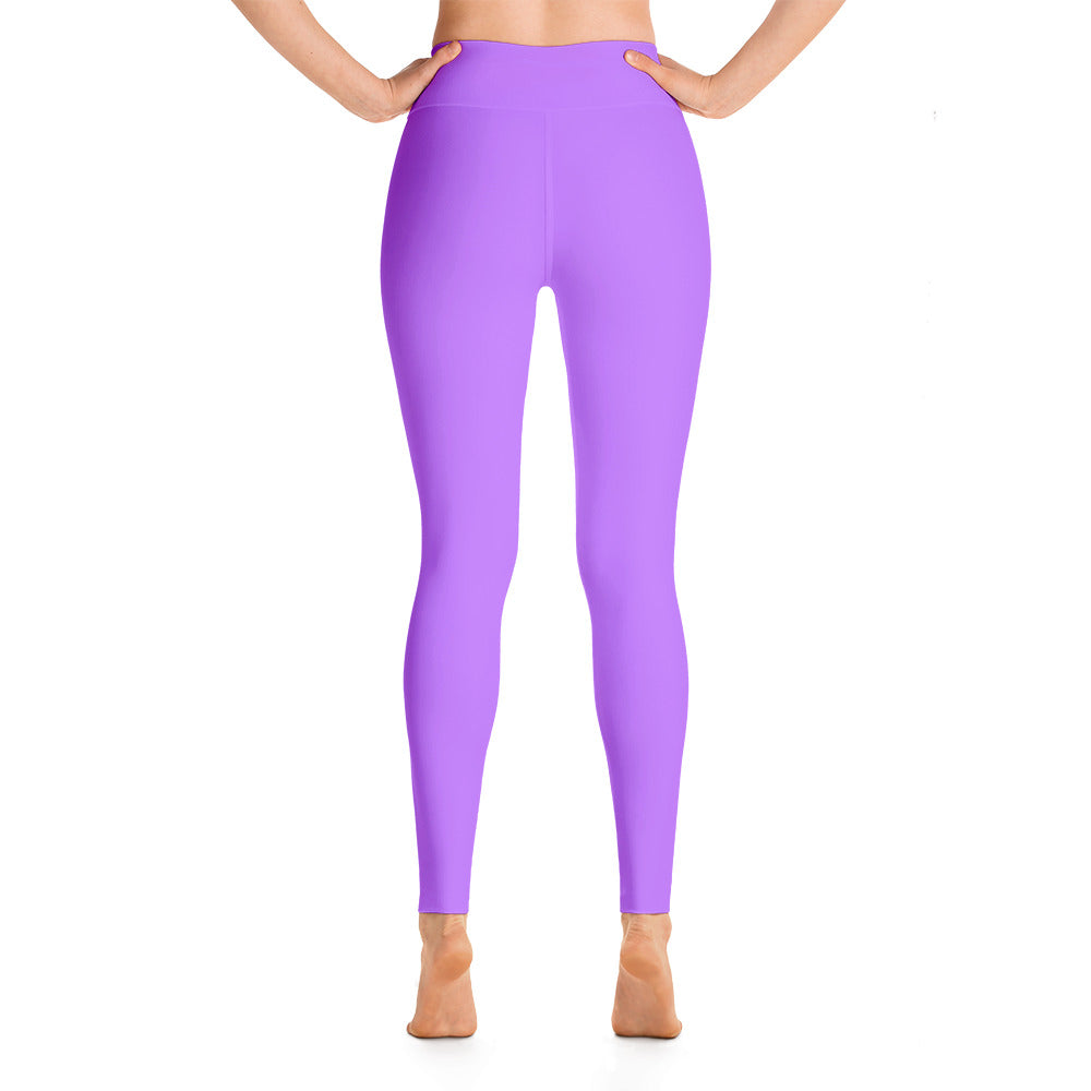 Lavender High Rise Yoga Leggings