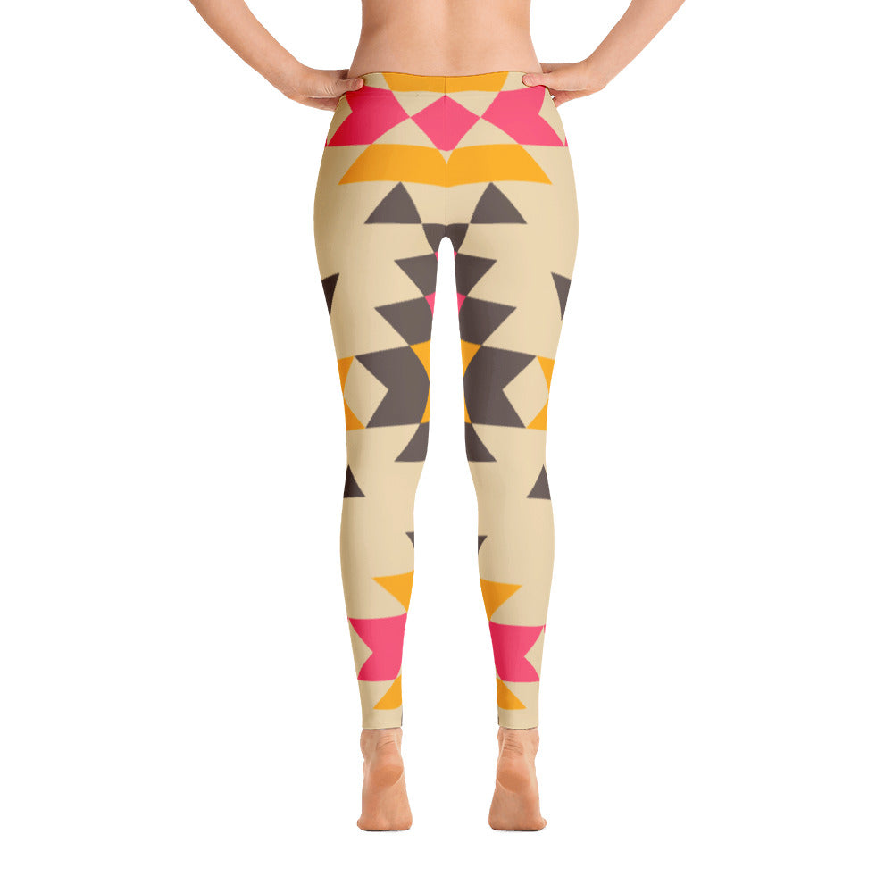 Nina Mid Rise Yoga Leggings