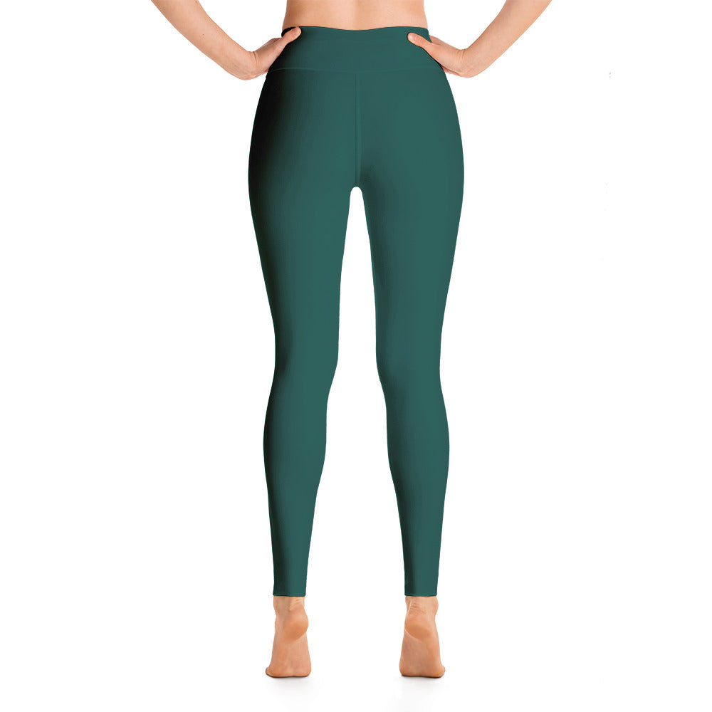 Sea Green High Rise Yoga Leggings