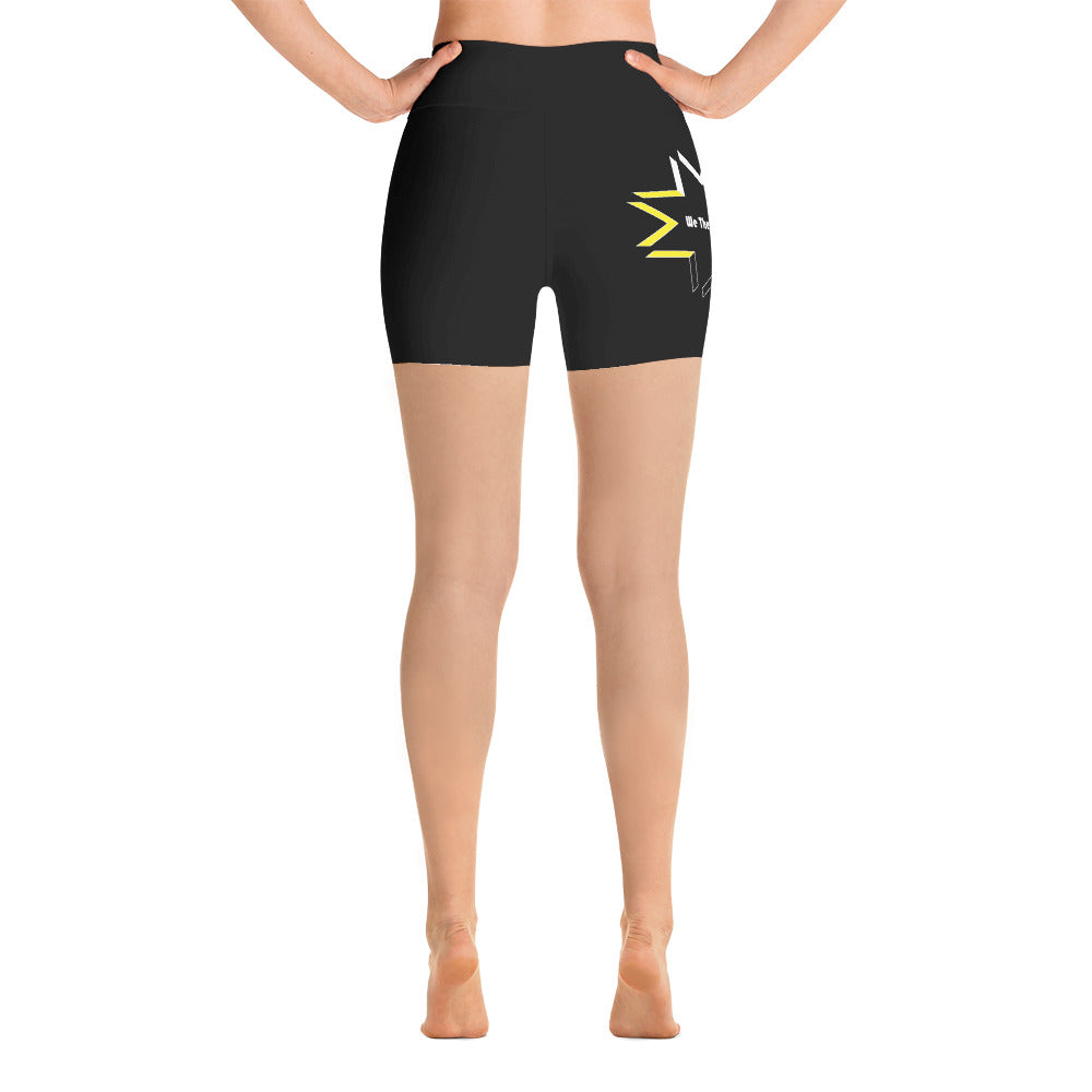 Inspired High Rise Yoga Shorts