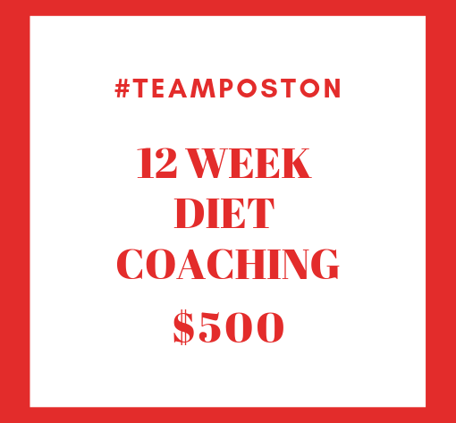 12 Week Diet Coaching