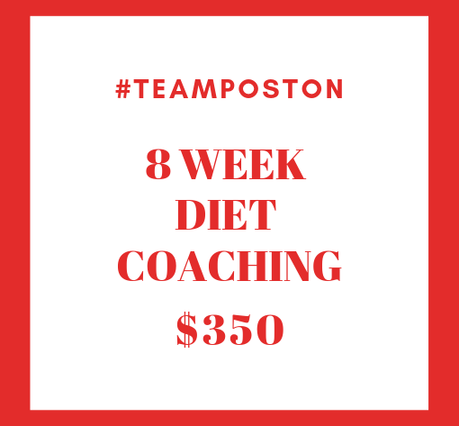 8 Week Diet Coaching