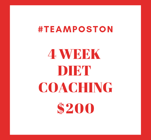 4 Week Diet Coaching
