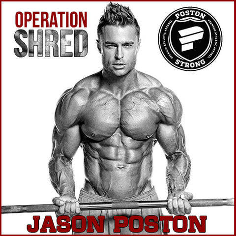 Operation Shred - The 8 Week Guide to a new shredded you