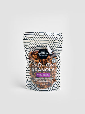 Oatberry Very Berry Gluten-Free Granola (80g & 250g)