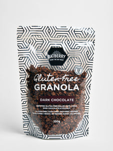 Oatberry Dark Chocolate Gluten-Free Granola (80g & 250g)