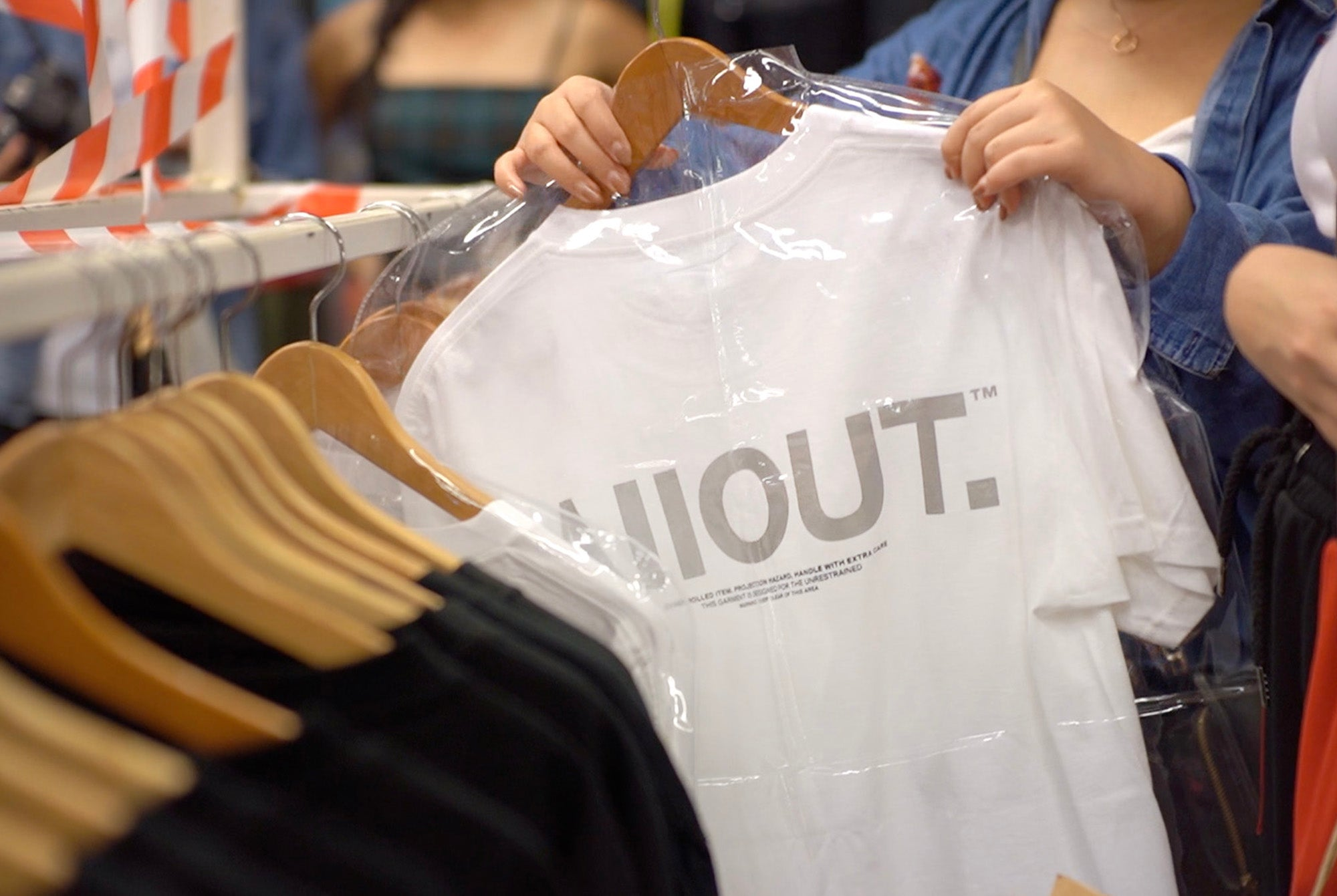 AllOUT.™ Label First In-Store Release