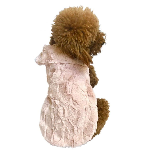 Bella Luxury dog Coat, Blush