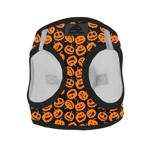 Clothes - Dog Harness Holiday Line Halloween Jack-o-Lanterns | Dog Parents Online
