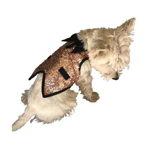 Clothes - Dog Tuxedo The Gentleman's Dog Tuxedo Rose Gold Sequins