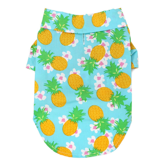 Clothes - Hawaiian Camp Shirt Pineapple Luau